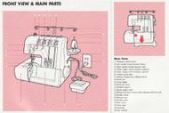 elna lock t34 t34d overlocker pdf instruction manual