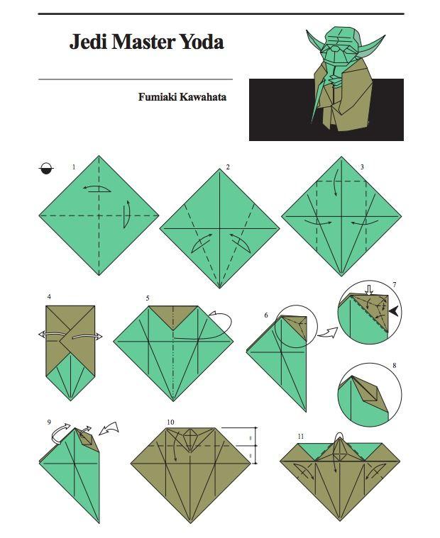 Star wars origami yoda instructions
