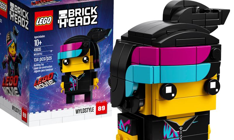 brickheadz instructions for wild style
