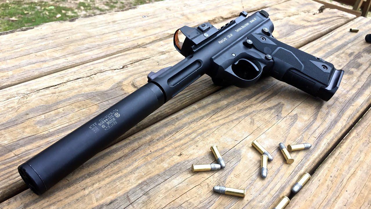 10 22 gun silencer homemade instructions