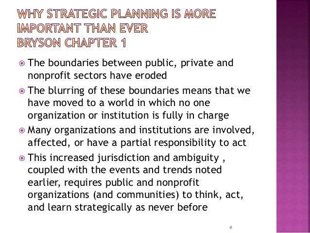 Strategic planning for public and nonprofit organizations bryson pdf
