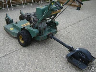 bunton walk behind mower manual