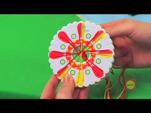 alex friendship wheel bracelet maker instructions