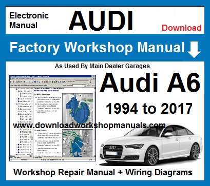 audi a6 service manual free download pdf