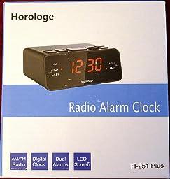 audiosonic led alarm clock manual