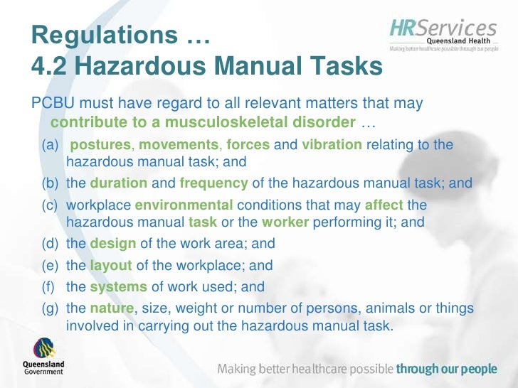 manual handling policy and procedure in aged care