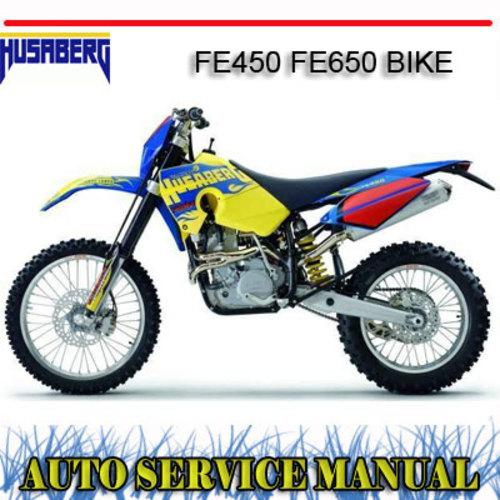 husaberg fe 450 service manual