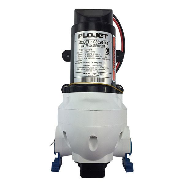 Flojet 2.9 gpm 50 psi water pump manual