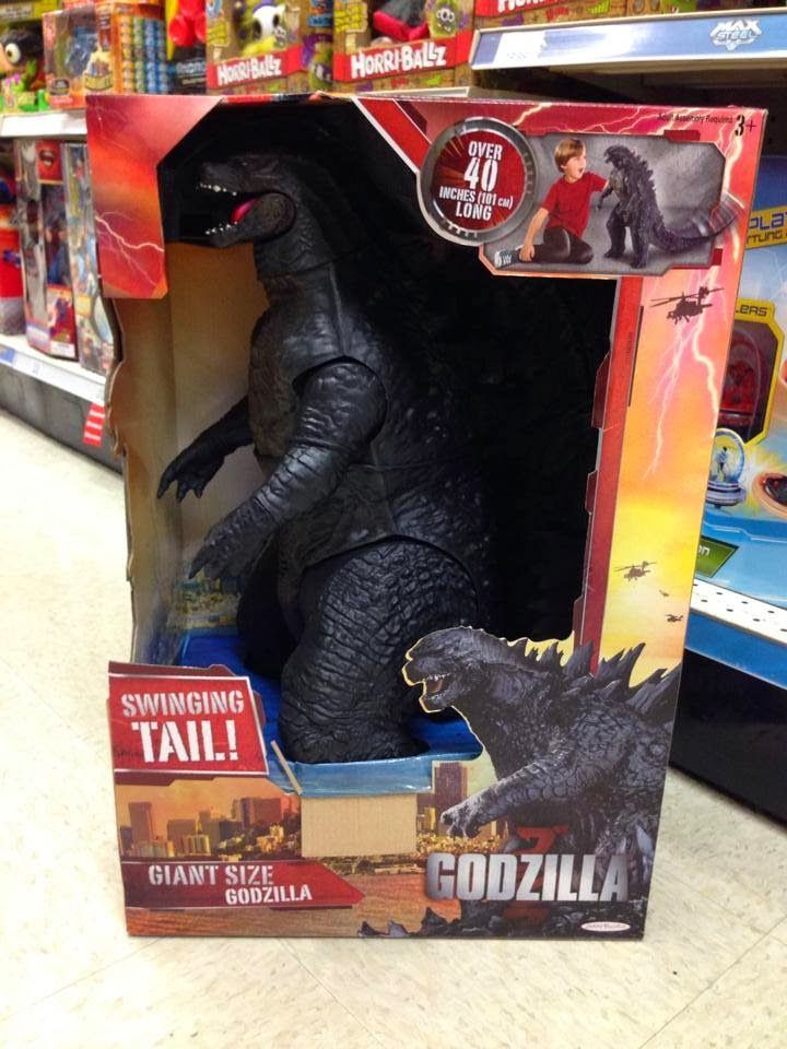 giant godzilla toy instructions