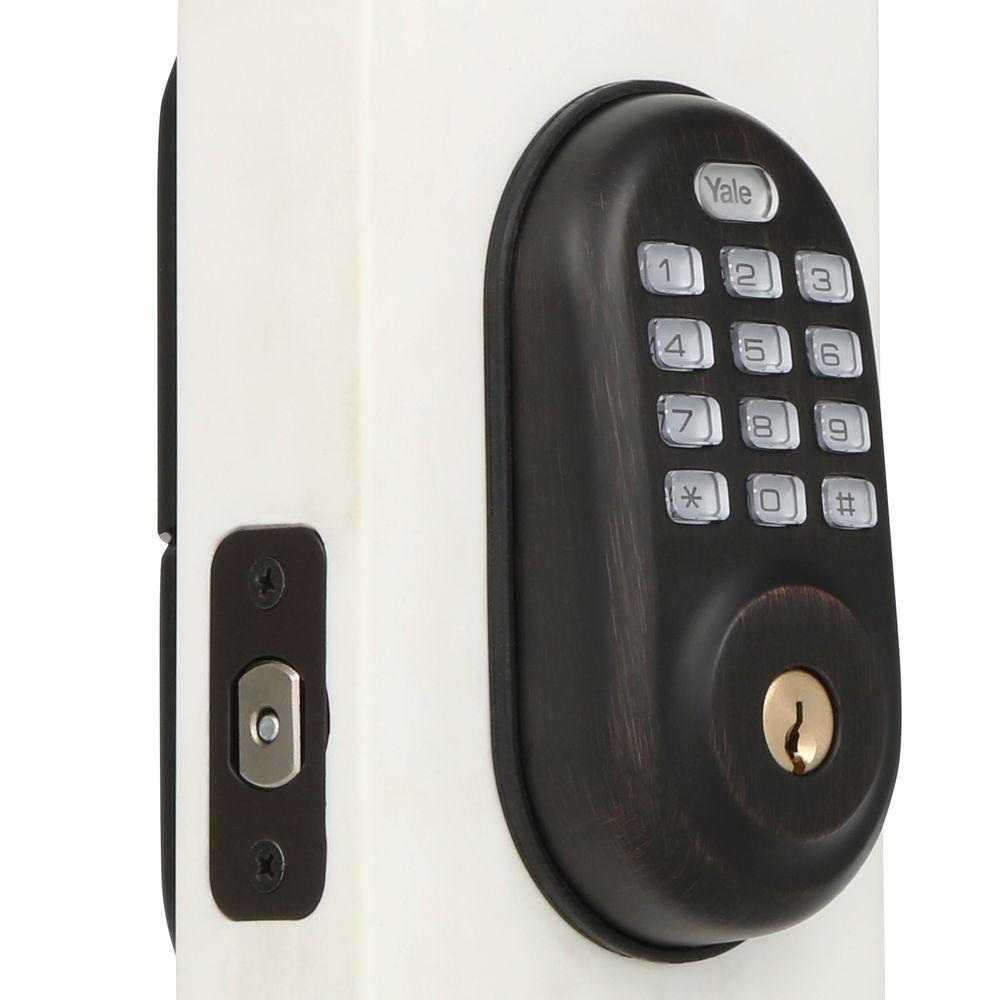 Yale real living push button deadbolt manual