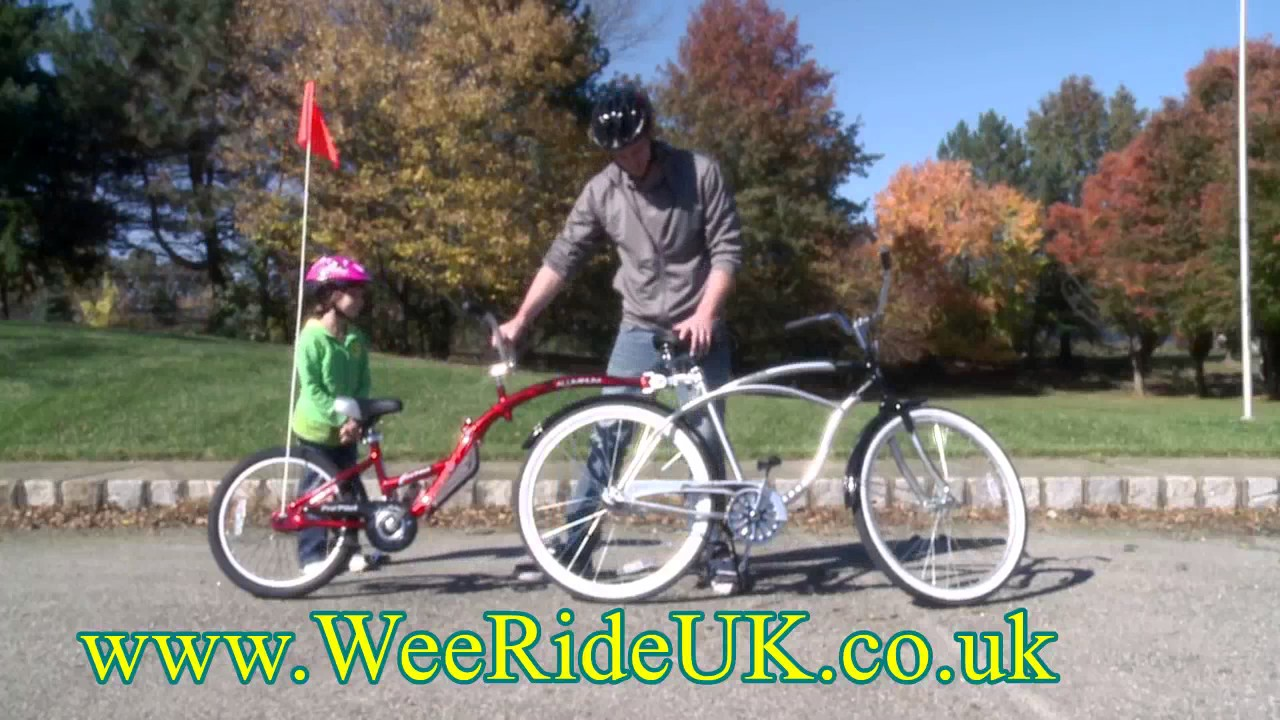 weeride co pilot bike trailer instructions