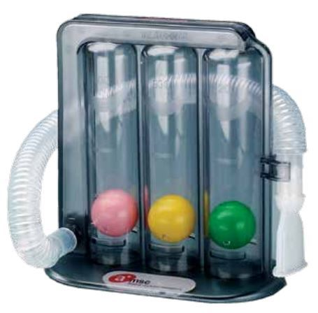triflow incentive spirometer instructions