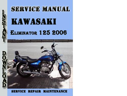 kawasaki eliminator 250 service manual