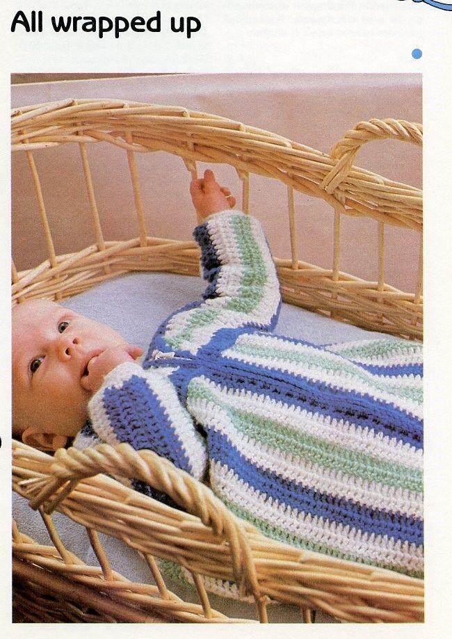 baby sleeping bag instructions
