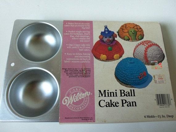 ball cake pan instructions