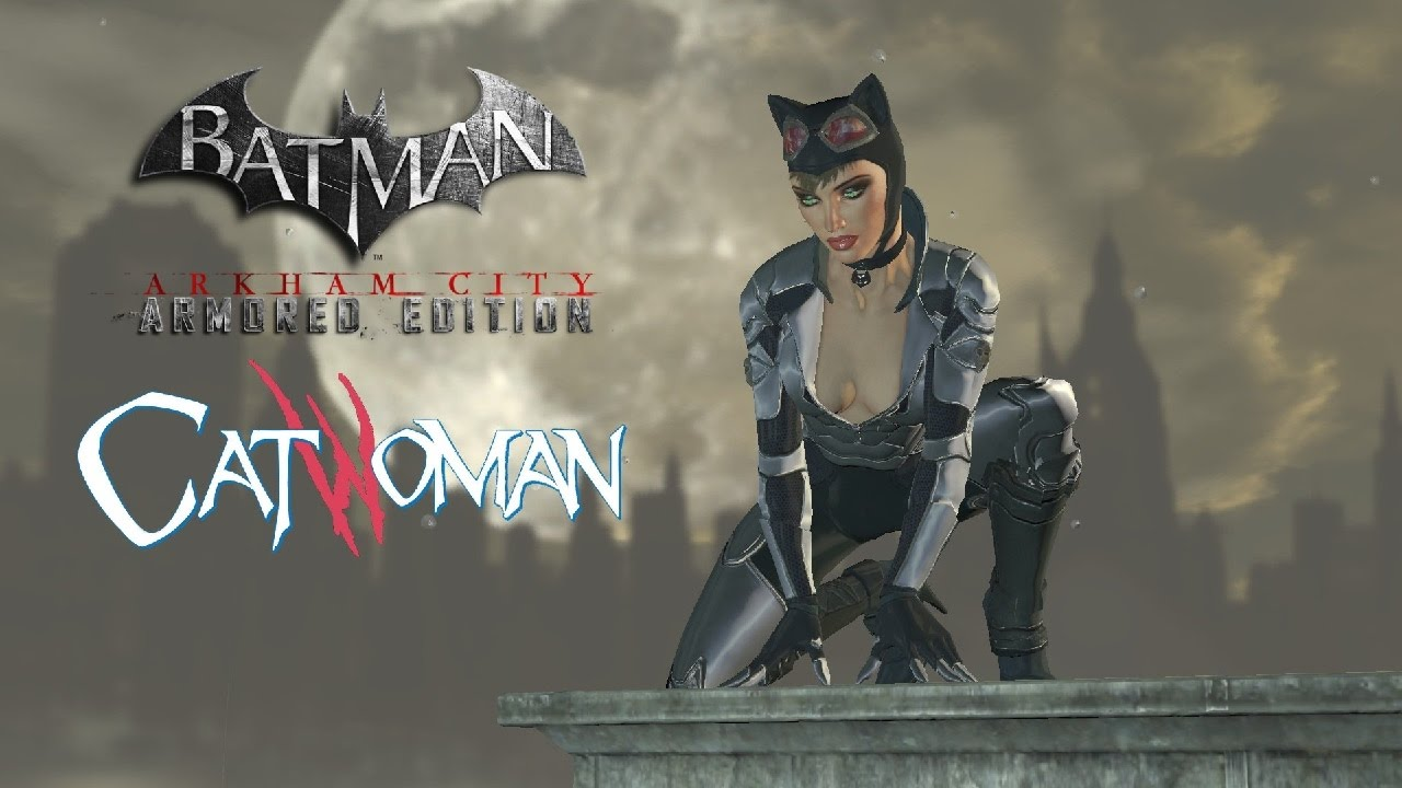 Batman arkham city how to change catwoman skins