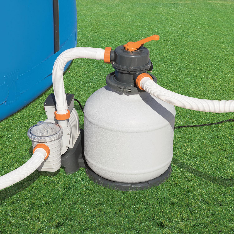 bestway sand filter pump manual