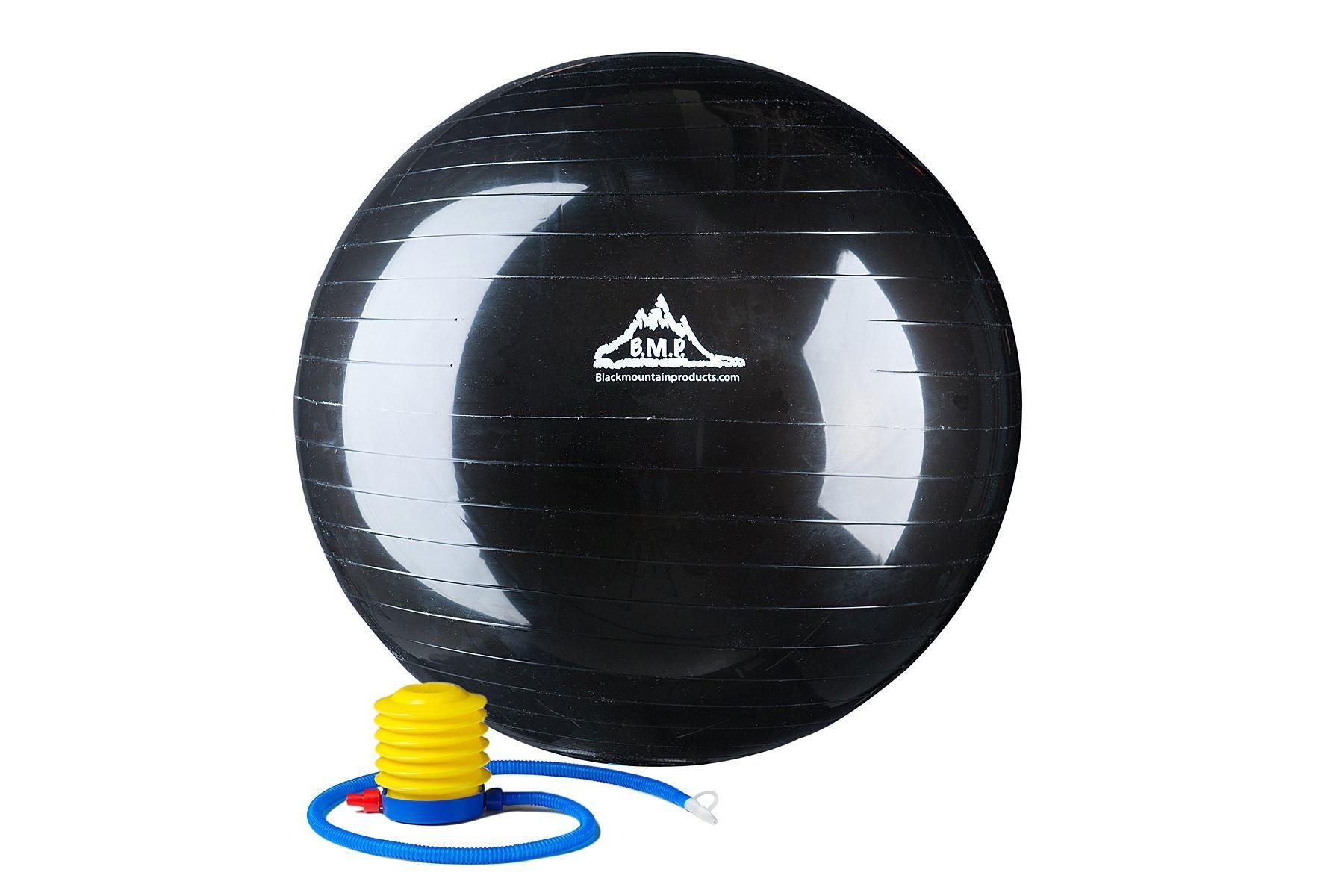 black mountain exercise ball instructions