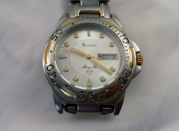 bulova marine star 100m manual