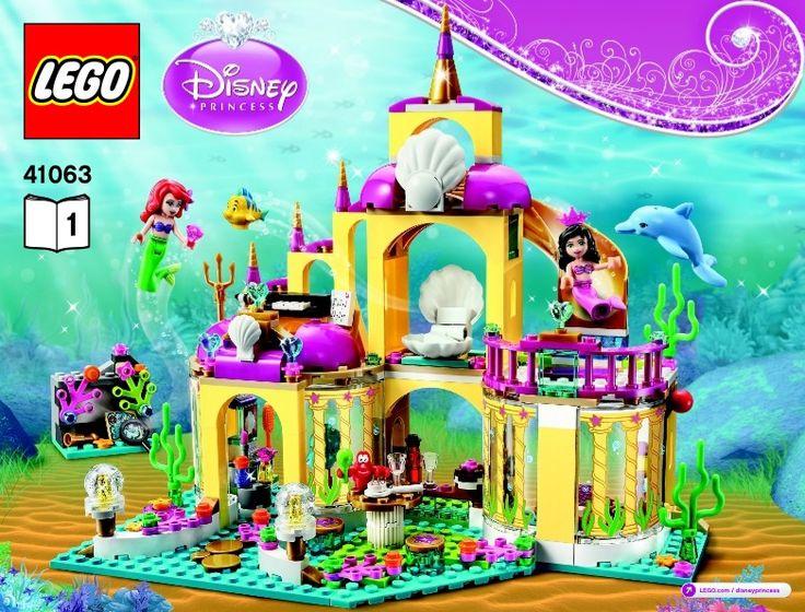 Lego disney princess castle instructions