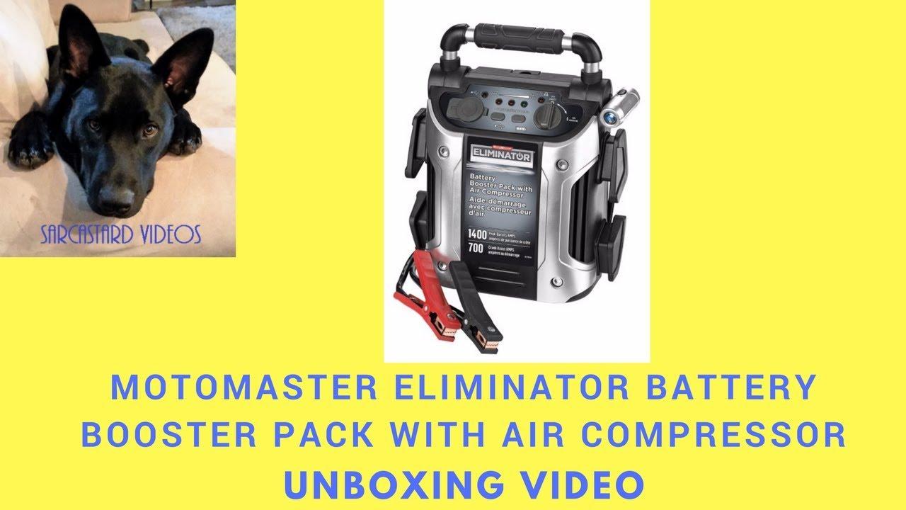 eliminator booster pack 1400 manual