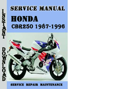 honda cbr500r service manual pdf