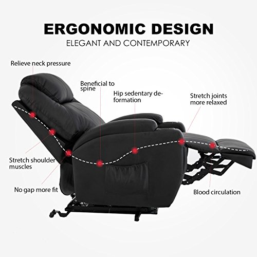 can power recliners be operated manually