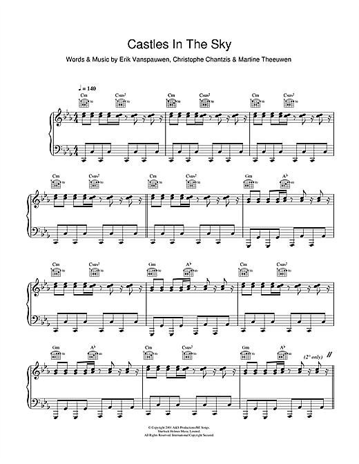 Castle in the sky violin sheet music pdf