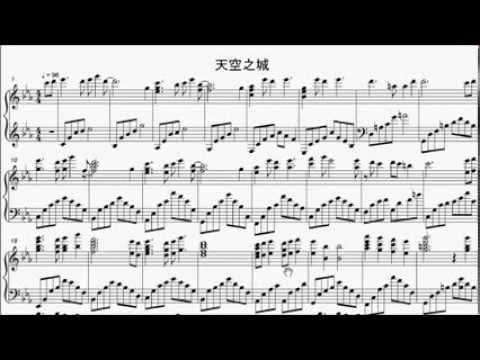 Castle in the sky violin sheet music pdf