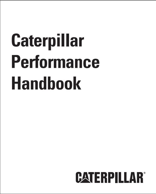 Caterpillar performance handbook 48 pdf