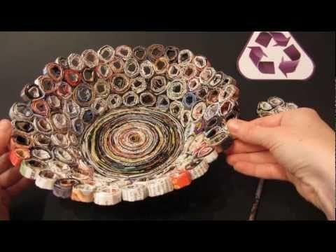 Catrinas hechas material reciclado manualidades