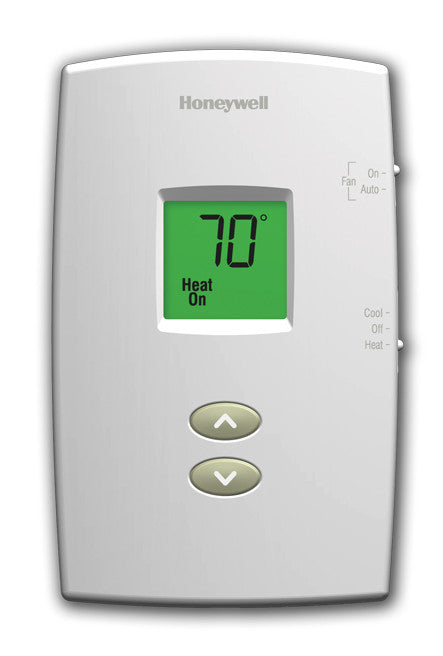 honeywell rectangle mechanical non-programmable thermostat manual