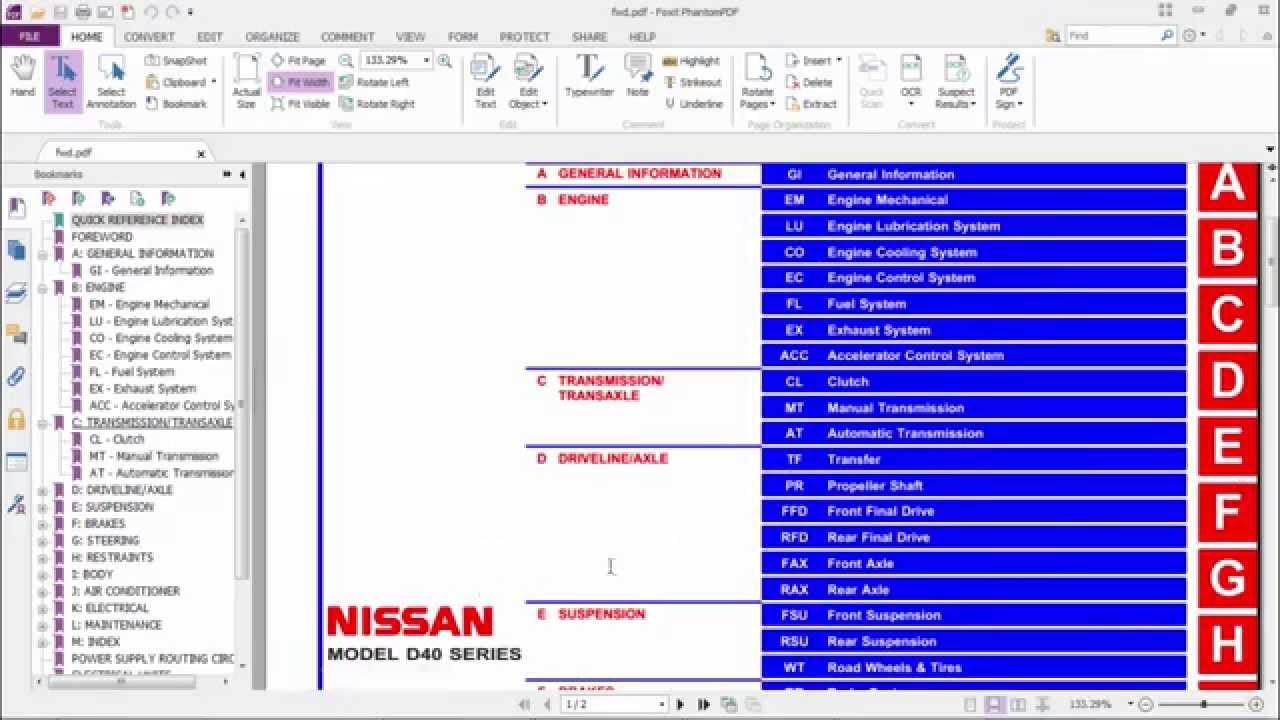 Nissan navara d40 workshop manual download