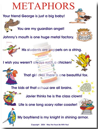List of metaphors and their meanings pdf