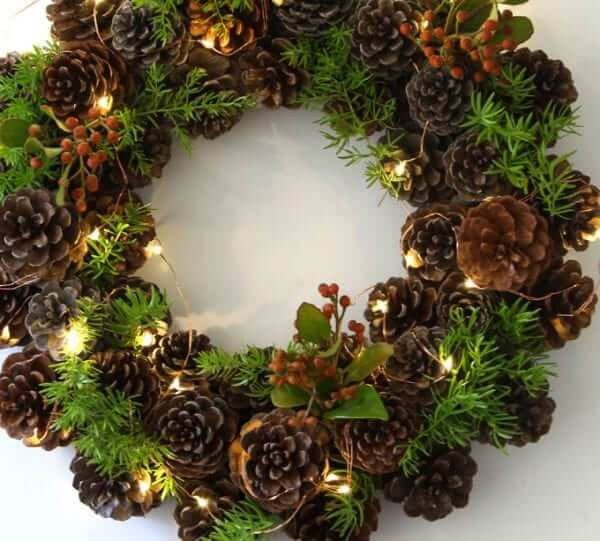 handmade christmas wreaths instructions