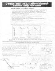Challenger garage door opener ch 1000 manual