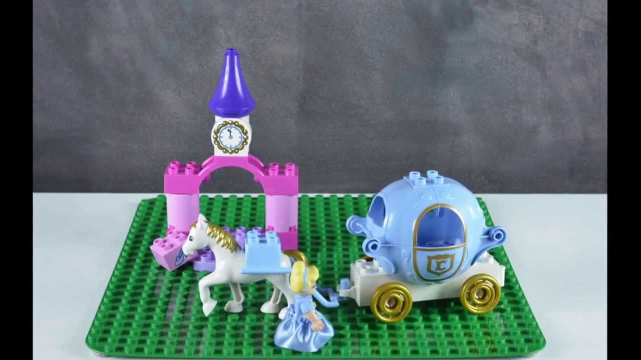 cinderella lego duplo instructions