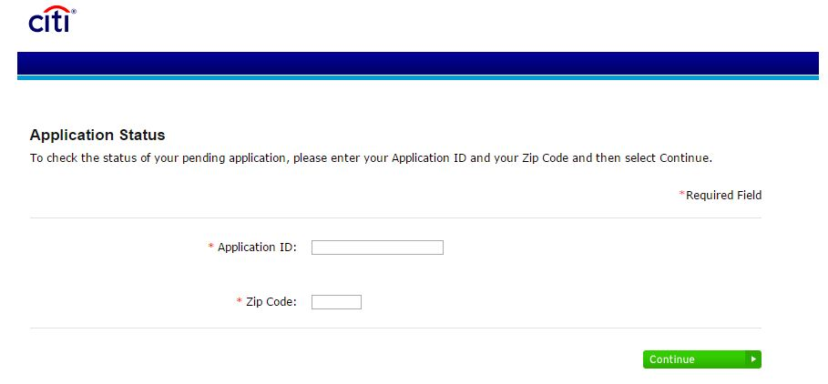 Citibank credit card application phone number