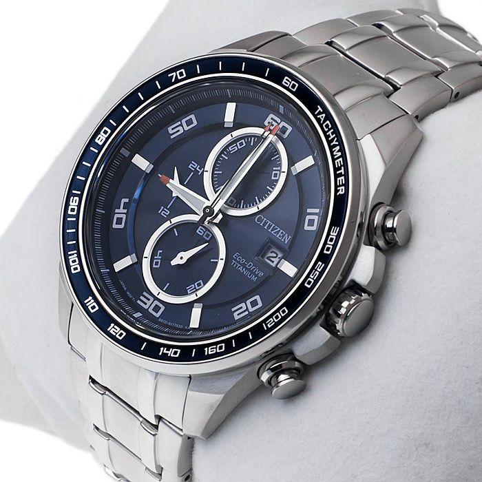 citizen titanium chronograph sapphire manual