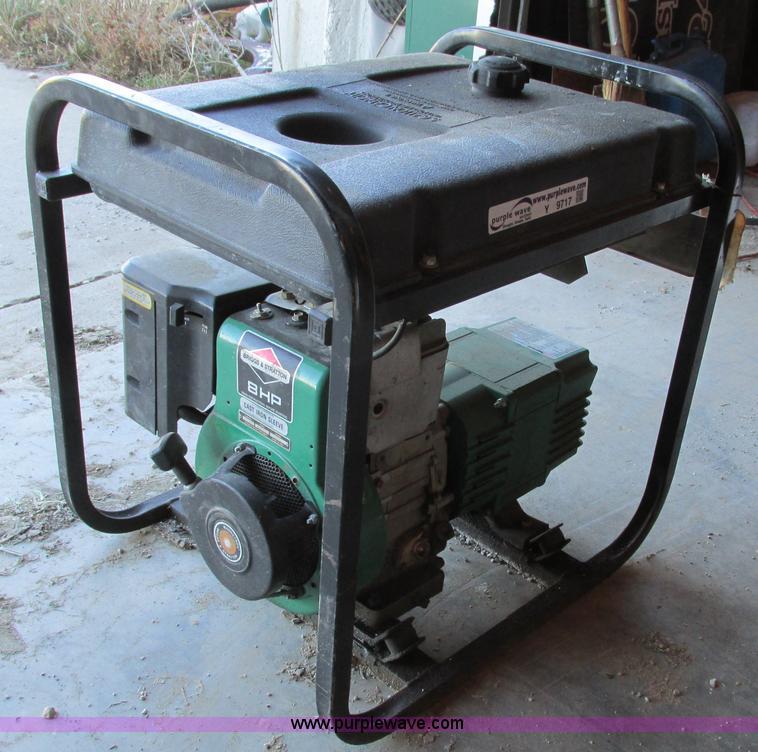 coleman powermate 4000 watt generator manual