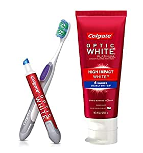 colgate optic white professional whitening instructions