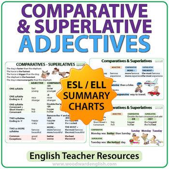 Comparative and superlative adjectives list pdf