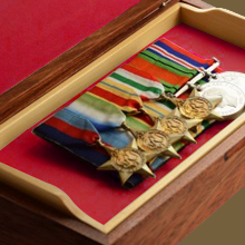 court mounting medals instructions