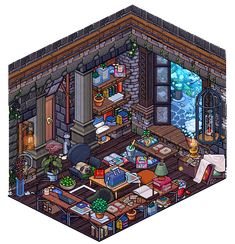 Habbo how to build a barn