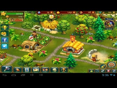 The tribez games how to get haystacks