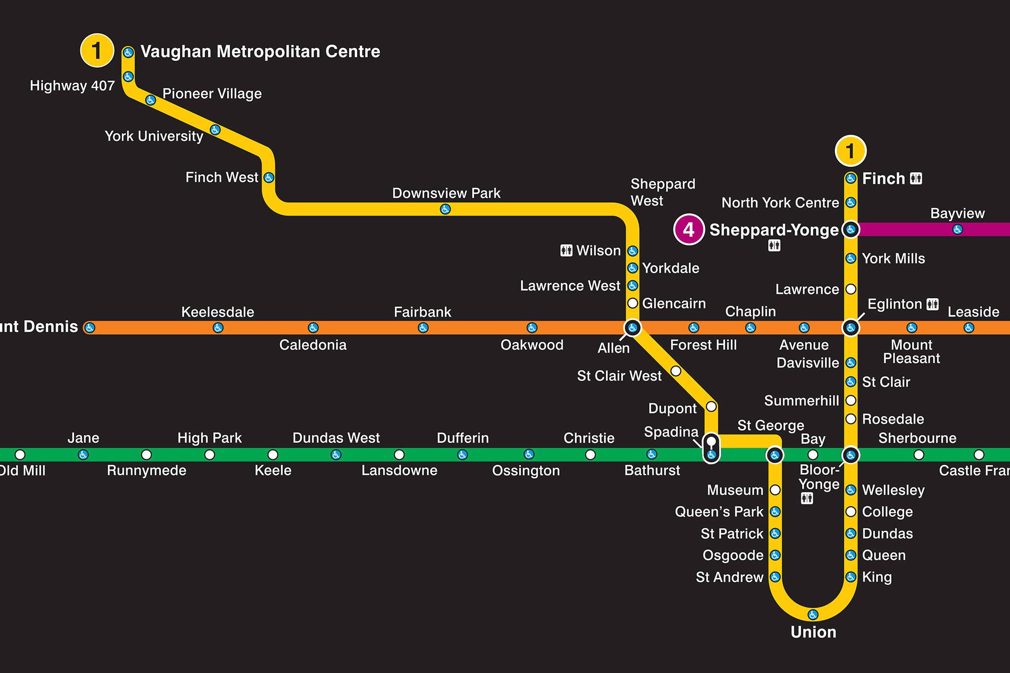 Ttc subway map 2018 pdf