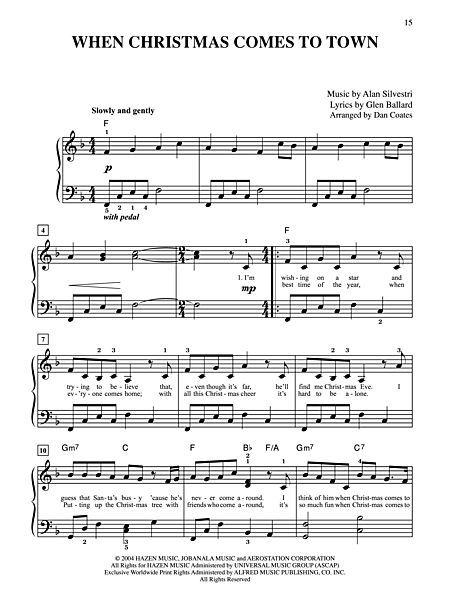 Dan coates believe piano pdf