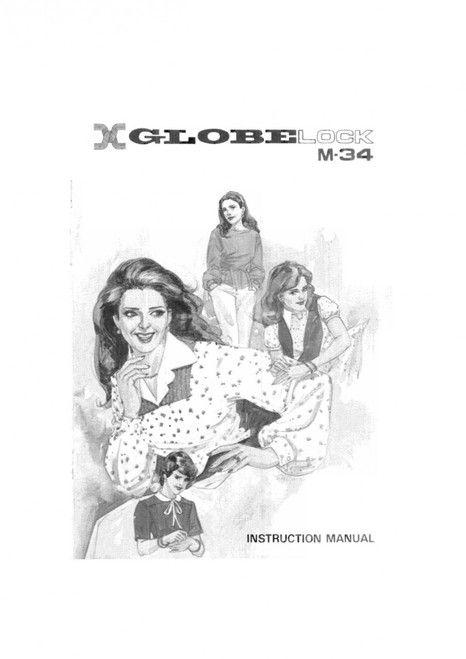 Globe m34 overlocker manual free