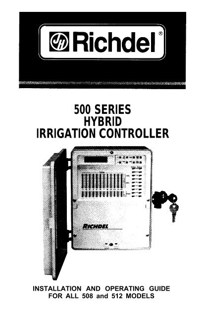 richdel 500 pri series manual