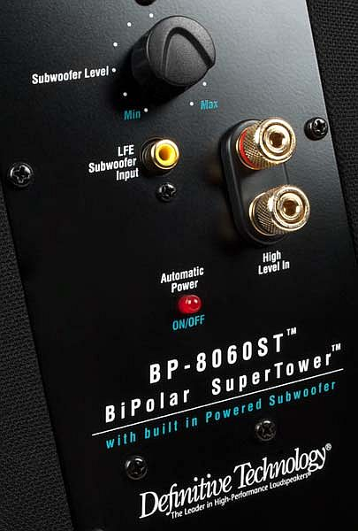 Definitive technology bp 2006 manual